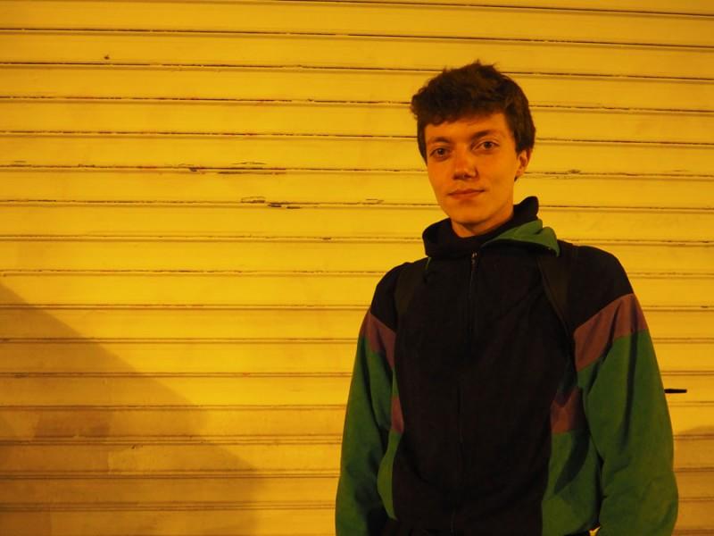 Antoine, 20 / Student, Paris